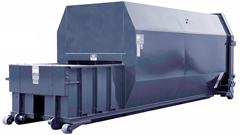 15 or 20 or 30 Cubic Yard Self-Compacting Container